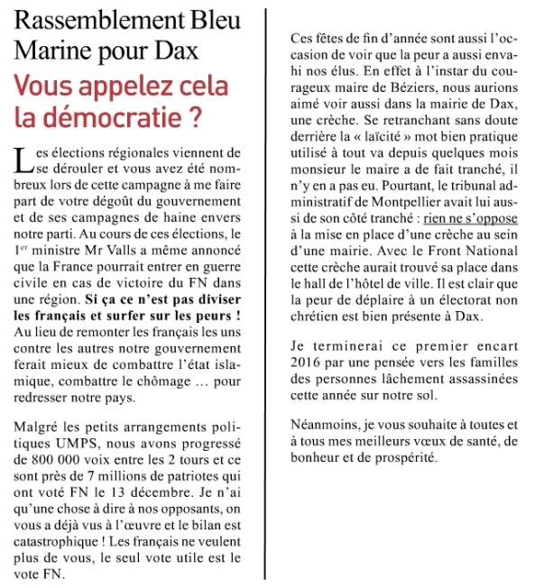 article DAX février mars 2016