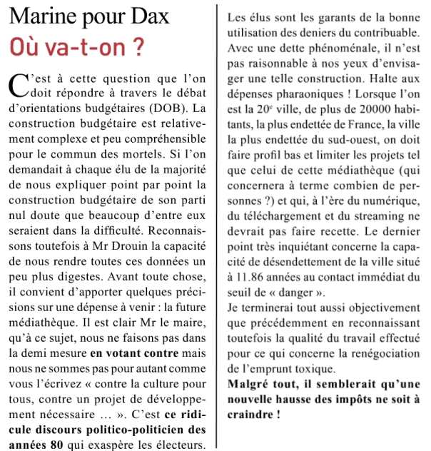 article DAX mars avril 2016