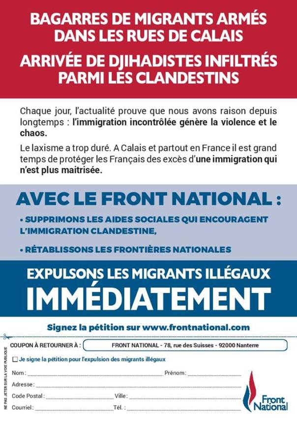 Petition migrants 2